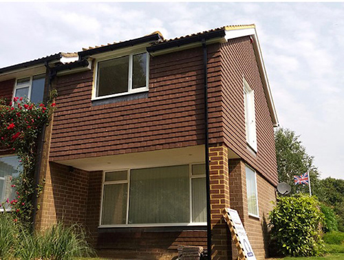 Extension completed in Horsham