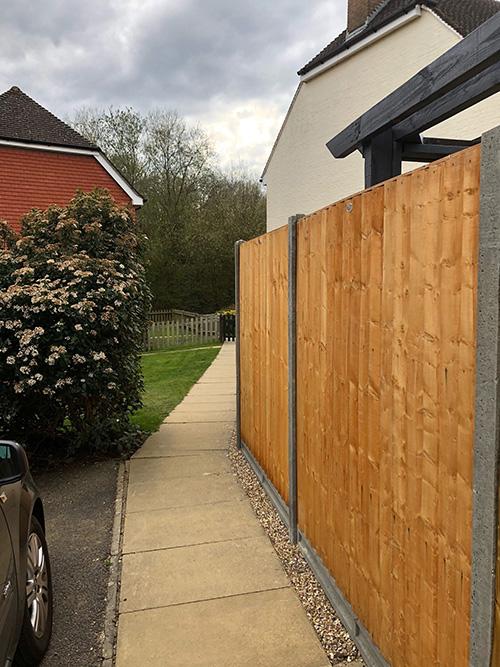 Fence renewal 2