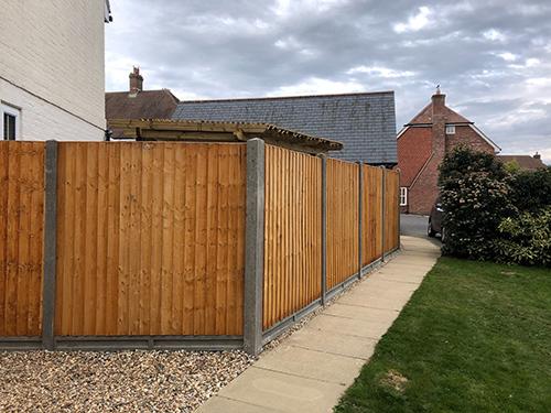 Fence renewal 3