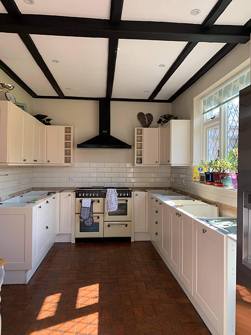 New oak kitchen worktop 2