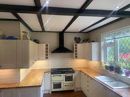 New oak kitchen worktop 5
